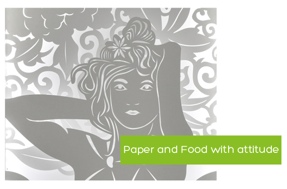 paper and food